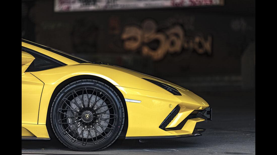 Lamborgini Aventador S, Felge