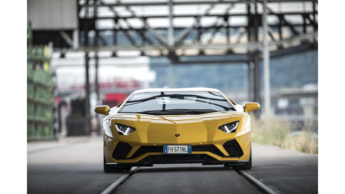 Lamborgini Aventador S, Front