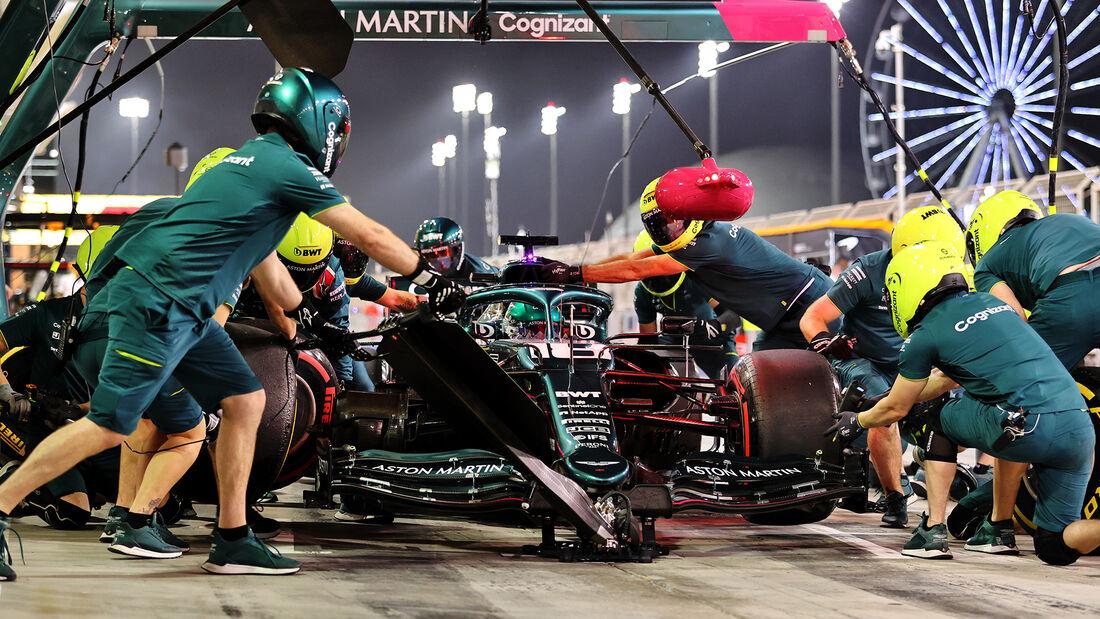 Lance Stroll - Aston Martin - Formel 1 - GP Bahrain - Freitag - 26.3.2021