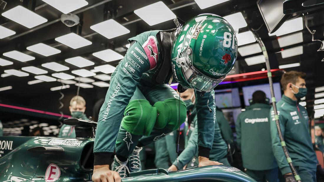 Lance Stroll - Aston Martin - Formel 1 - GP Belgien - 28. August 2021