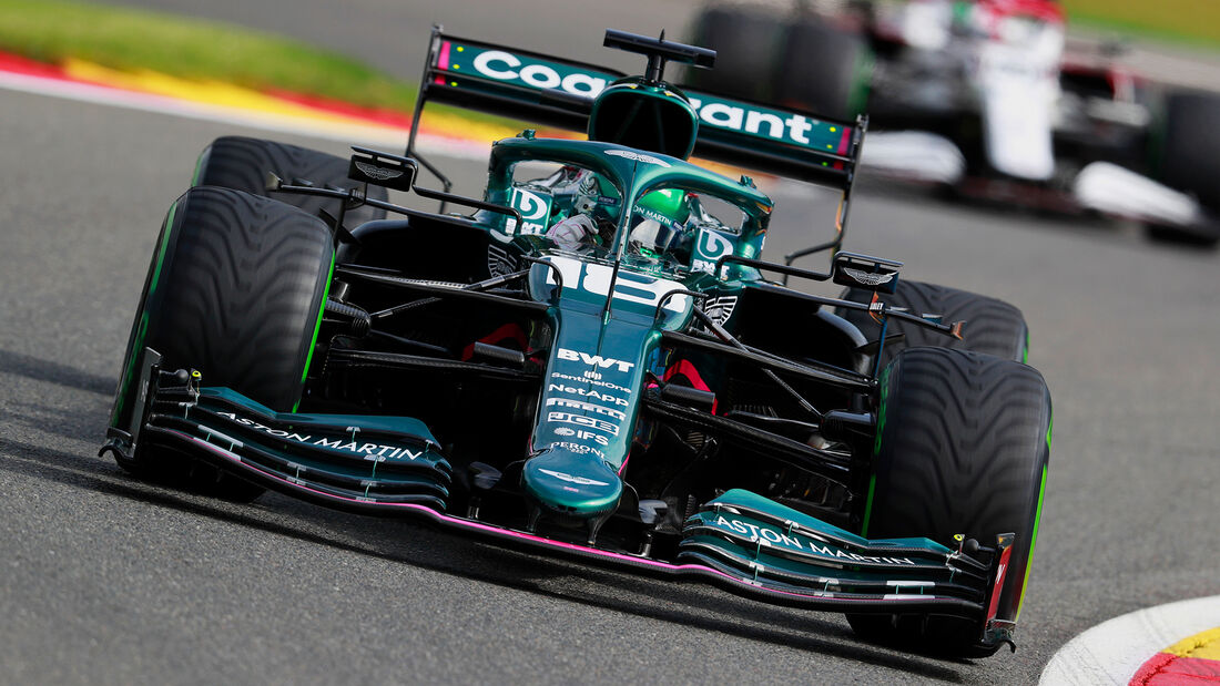 Lance Stroll - Aston Martin - Formel 1 - GP Belgien - Spa-Francorchamps - 27. August 2021
