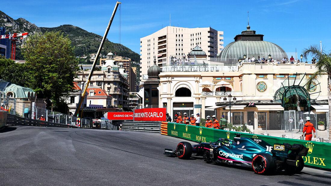 Lance Stroll - Aston Martin - Formel 1 - GP Monaco 2021