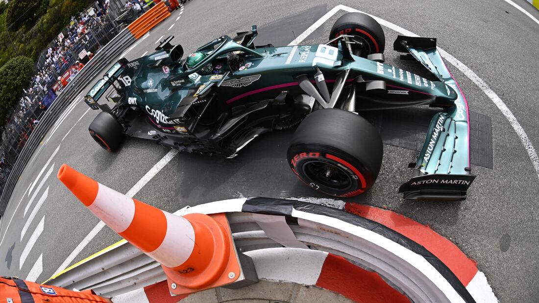 Lance Stroll - Aston Martin - Formel 1 - GP Monaco - 22. Mai 2021