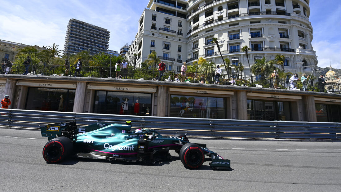 Lance Stroll - Aston Martin - Formel 1 - GP Monaco - 23. Mai 2021