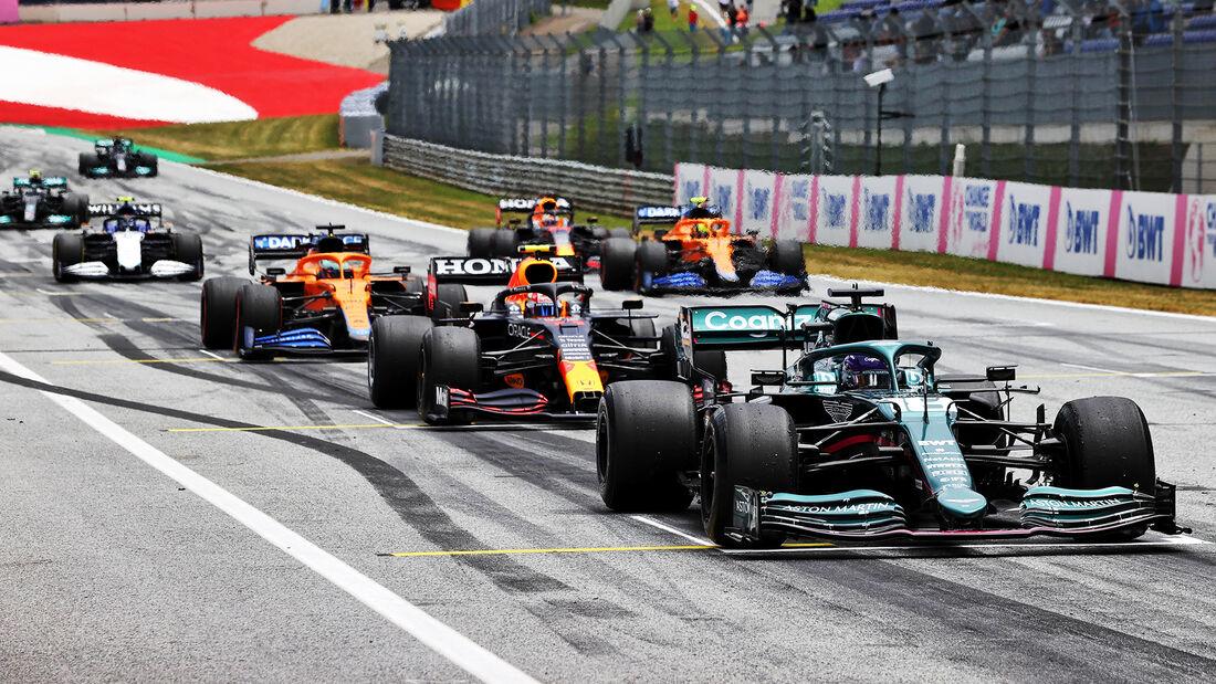 Lance Stroll - Aston Martin - Formel 1 - GP Österreich - Spielberg - Freitag - 2.7.2021