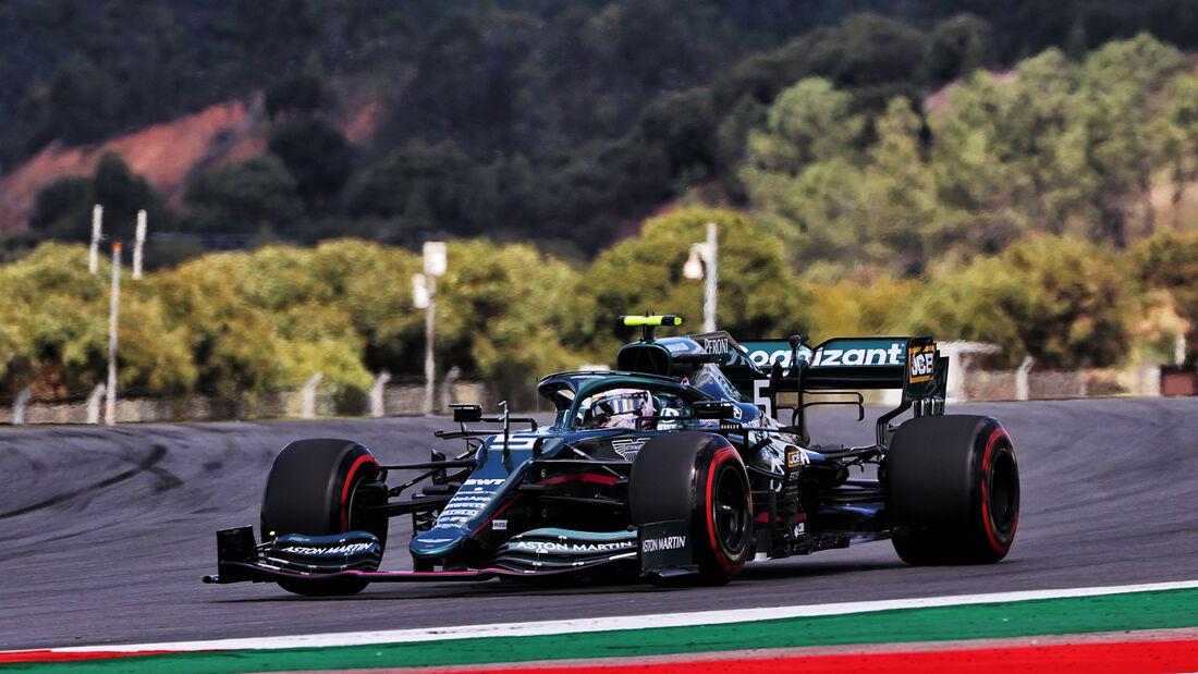 Lance Stroll - Aston Martin - Formel 1 - GP Portugal - Portimao - 30. April 2021