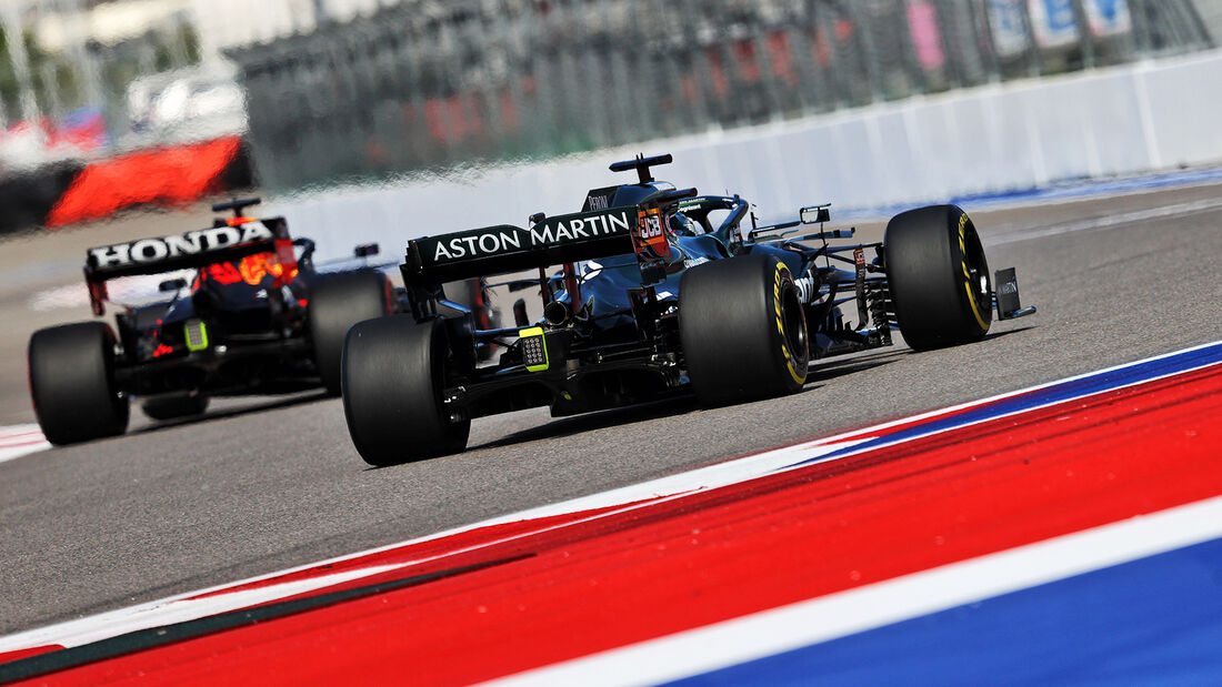 Lance Stroll - Aston Martin - Formel 1 - GP Russland - Sotschi - 24. September 2021