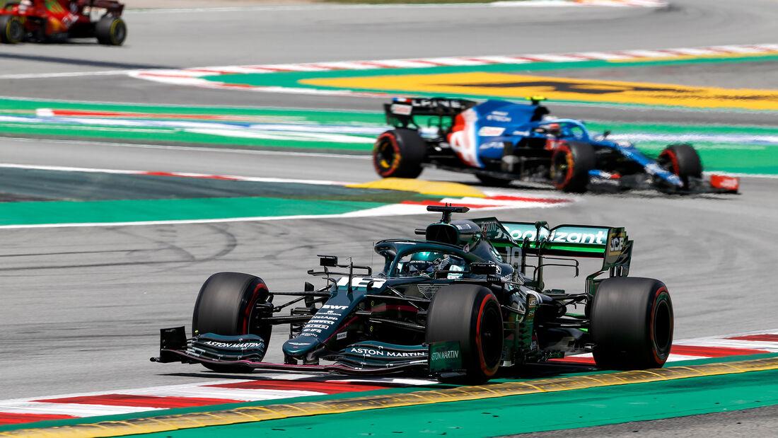 Lance Stroll - Aston Martin - Formel 1 - GP Spanien - 7. Mai 2020