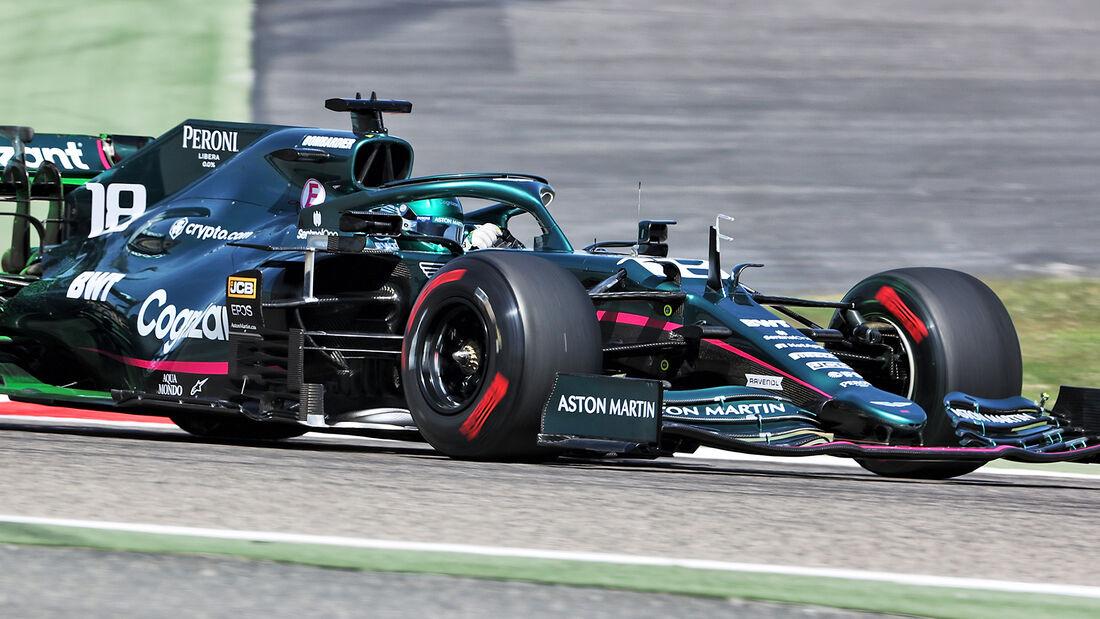 Lance Stroll - Aston Martin - Formel 1 - Test - Bahrain - 14. März 2021