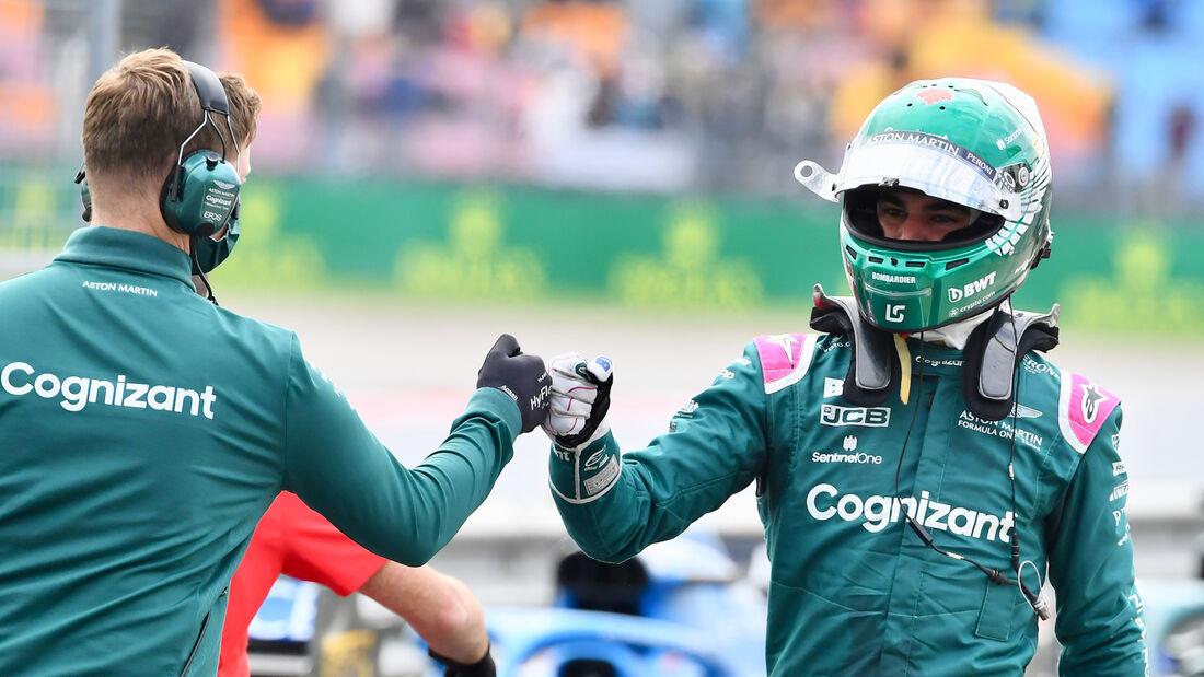 Lance Stroll - Aston Martin - GP Türkei - Istanbul - Formel 1 - 9. Oktober 2021