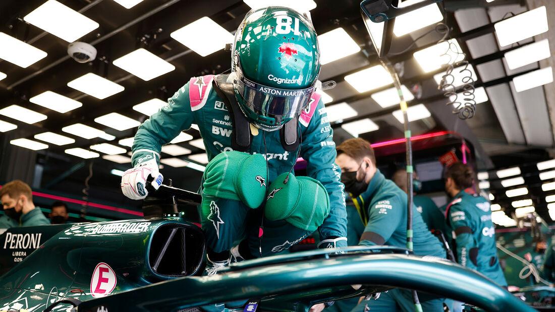Lance Stroll - Aston Martin - Imola - Formel 1 - GP Emilia Romagna - 17. April 2021