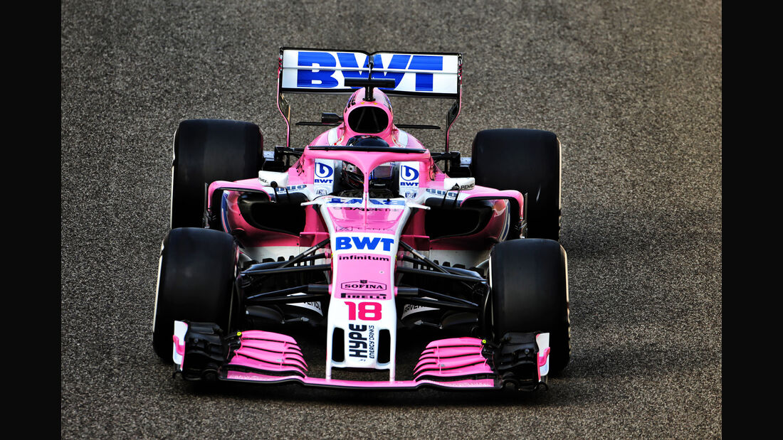 Lance Stroll - Force India - F1-Test - Abu Dhabi - 28. November 2018