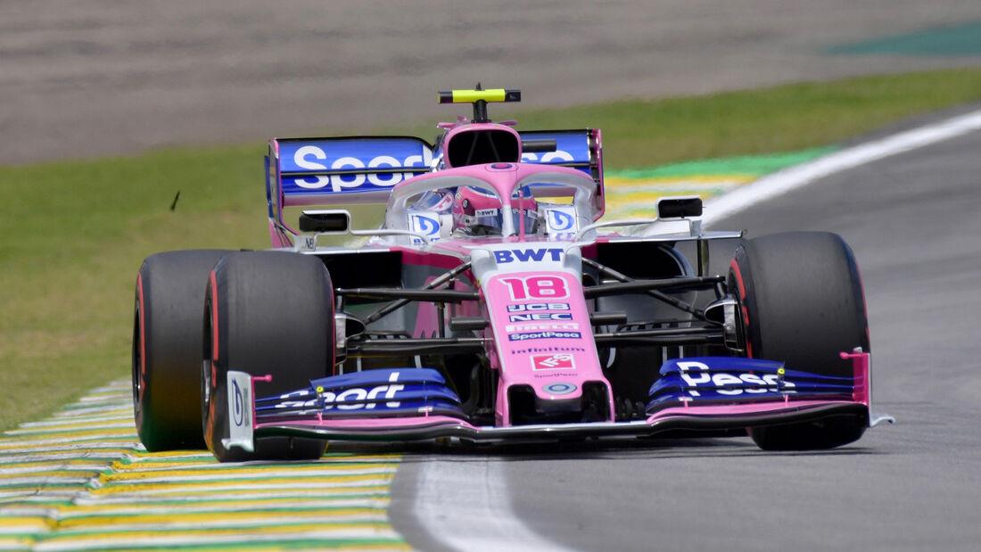 Lance Stroll - Formel 1 - GP Brasilien 2019
