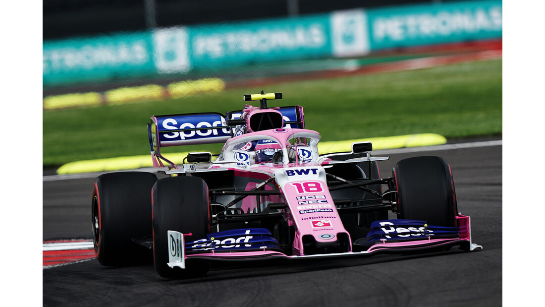 Lance Stroll - Formel 1 - GP Mexico 2019