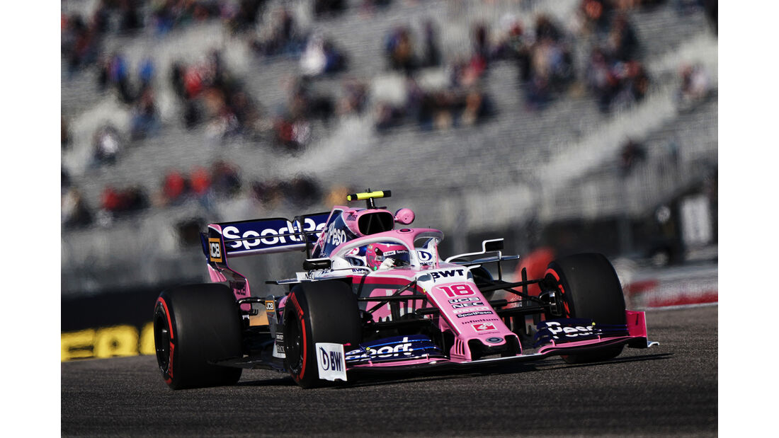 Lance Stroll  - Formel 1 - GP USA 2019