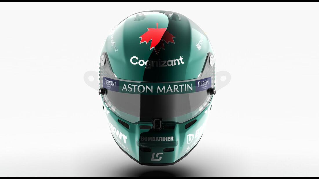 Lance Stroll - Formel 1 - Helm - 2021