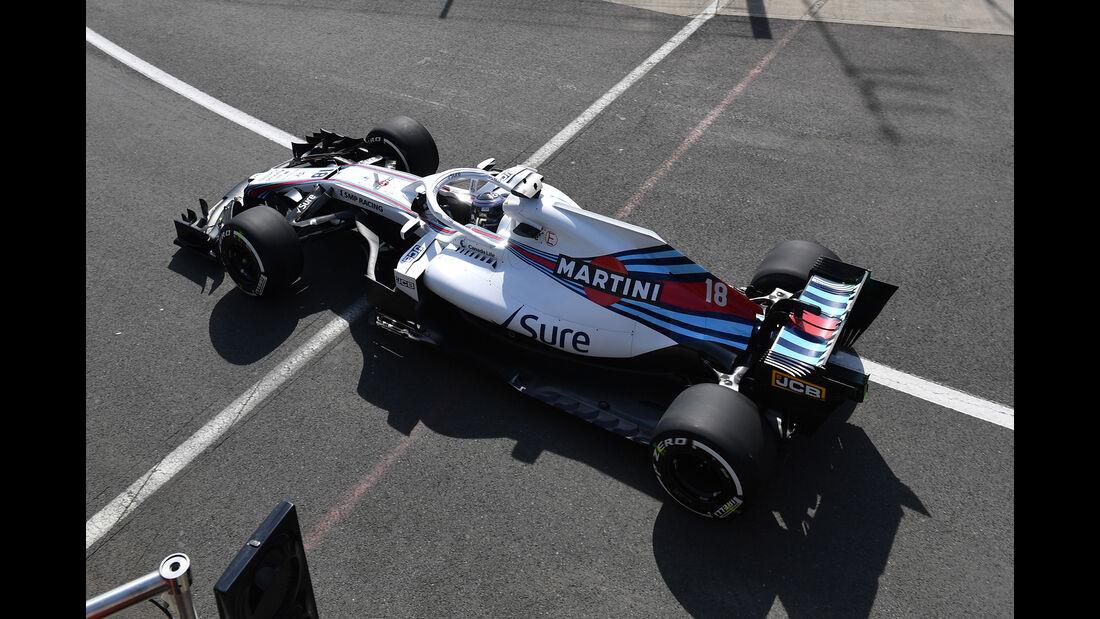 Lance Stroll - GP England 2018