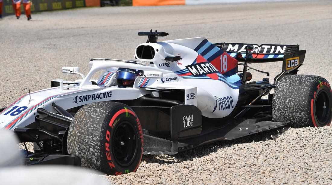 Lance Stroll - GP Spanien 2018