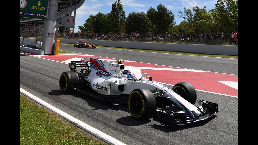 Lance Stroll - GP Spanien - Formel 1 - 2017