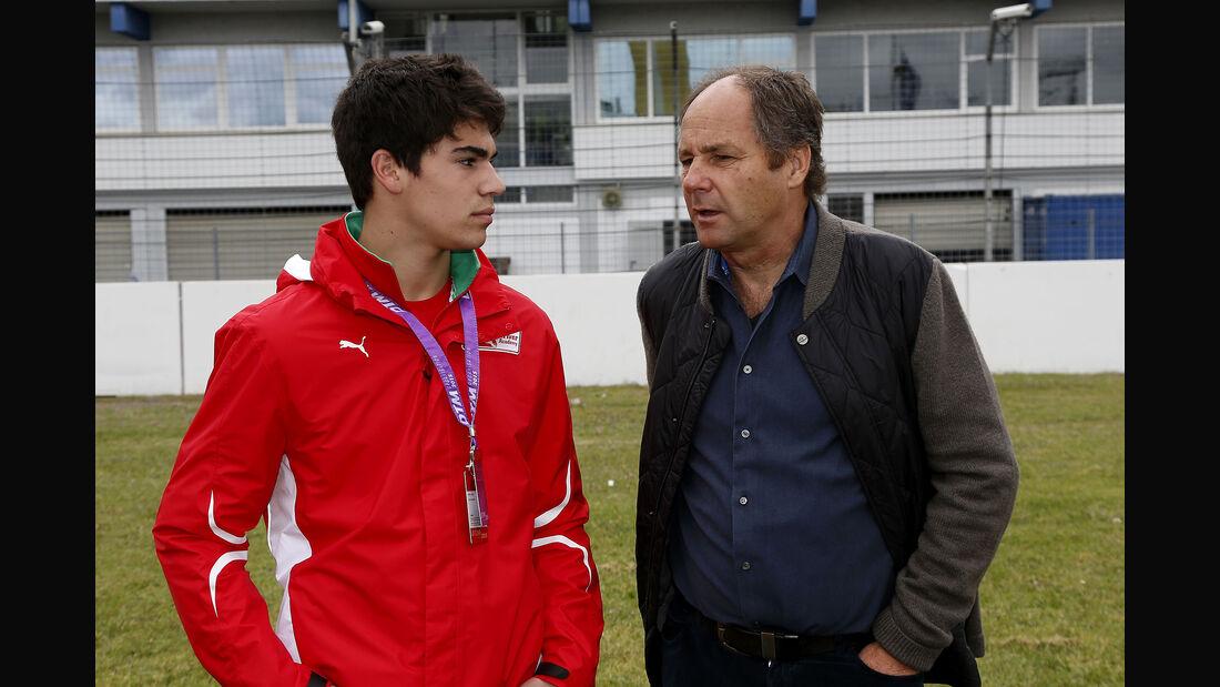 Lance Stroll & Gerhard Berger - Formel 3