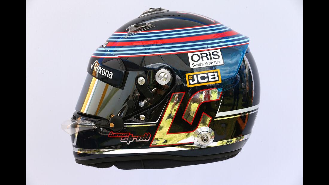 Lance Stroll - Helm - Formel 1 - 2017