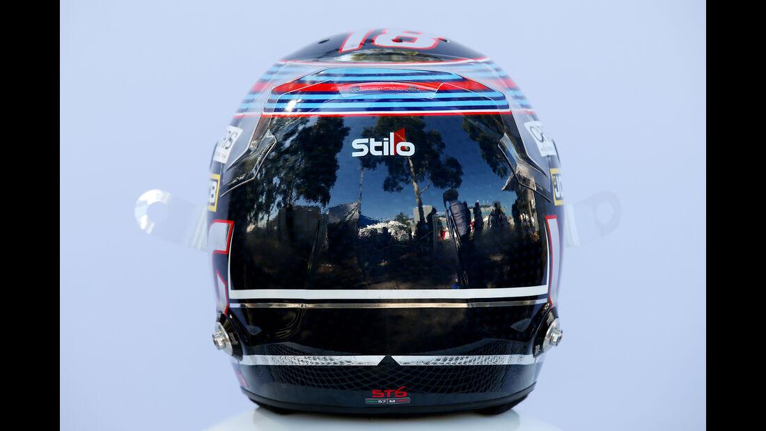 Lance Stroll - Helm - Formel 1 - 2018
