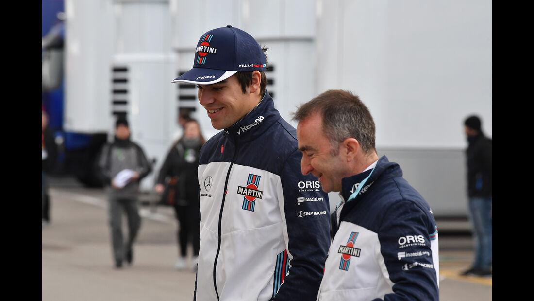 Lance Stroll & Paddy Lowe - Williams - F1-Test - Barcelona - Tag 7 - 8. März 2018