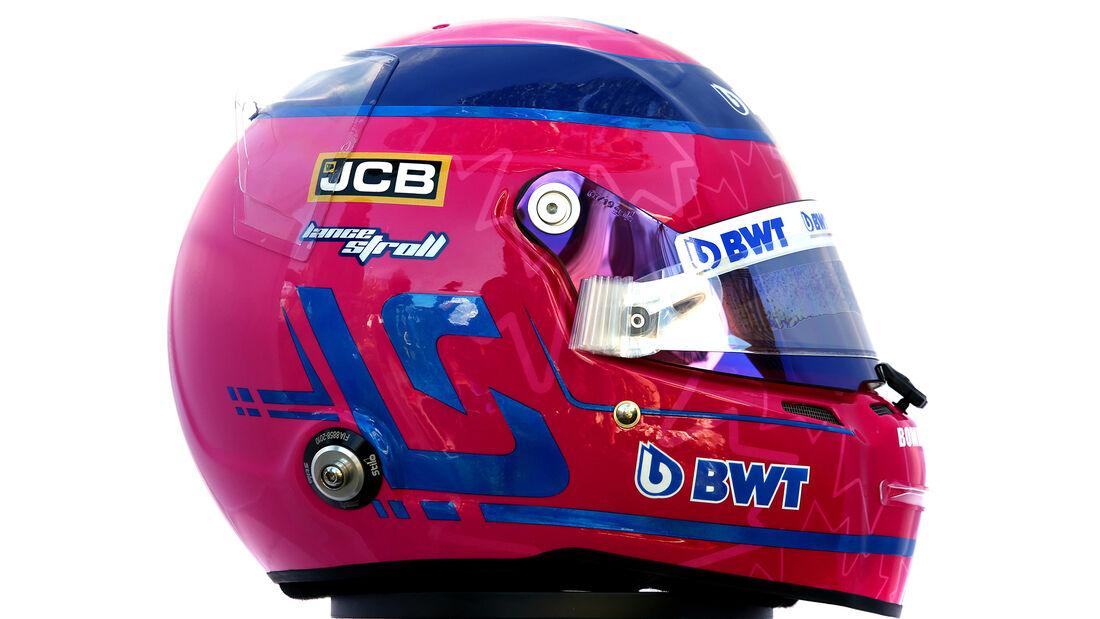 Lance Stroll - Porträt & Helm - Formel 1 - 2020