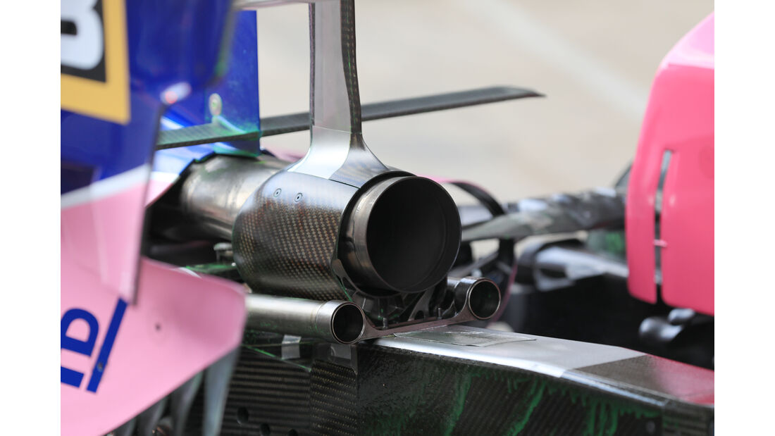 Lance Stroll - Racing Point - Barcelona - F1-Test - 19. Februar 2019