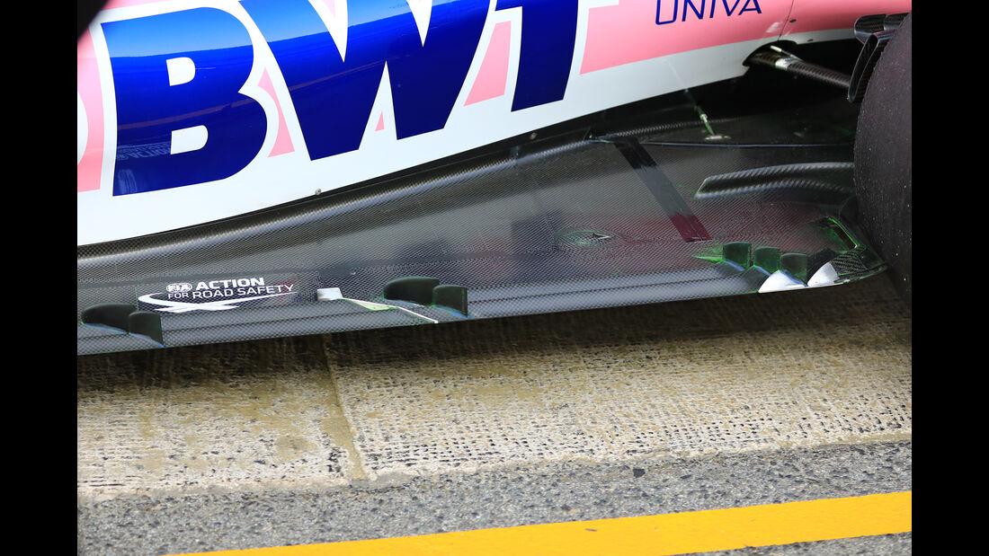 Lance Stroll - Racing Point - Barcelona - F1-Test - 21. Februar 2019