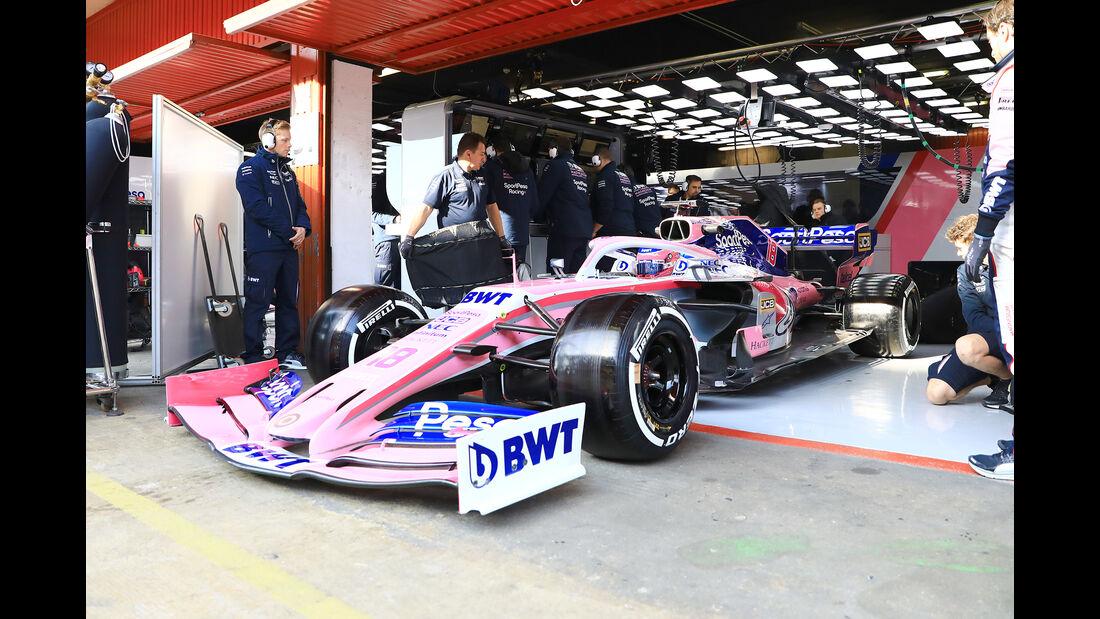 Lance Stroll - Racing Point - Barcelona - F1-Test - 27. Februar 2019