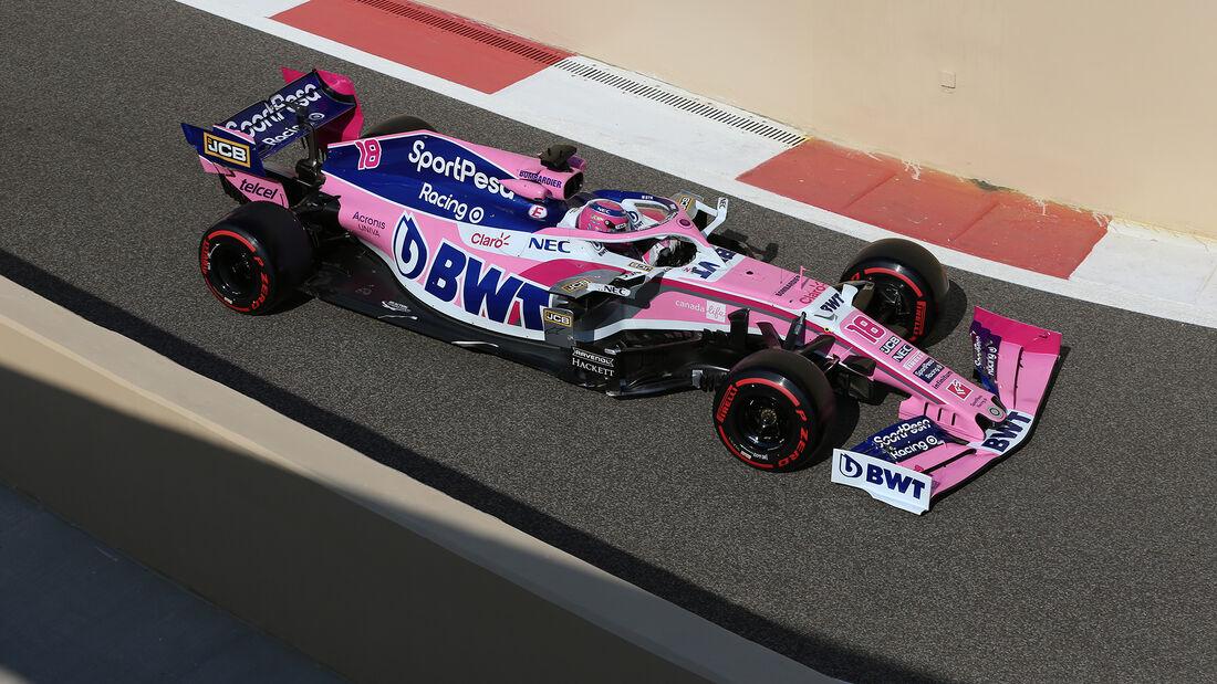 Lance Stroll - Racing Point - F1-Test - Abu Dhabi - 4. Dezember 2019