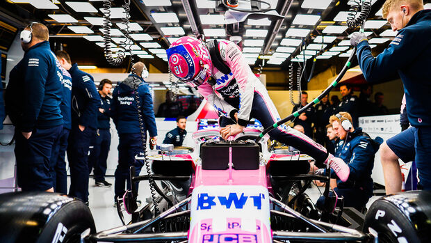 Lance Stroll - Racing Point - F1-Test - Barcelona - 2019