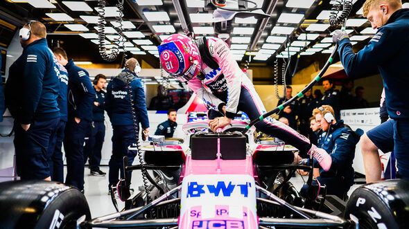 Lance Stroll - Racing Point - F1-Test - Barcelona - 2019
