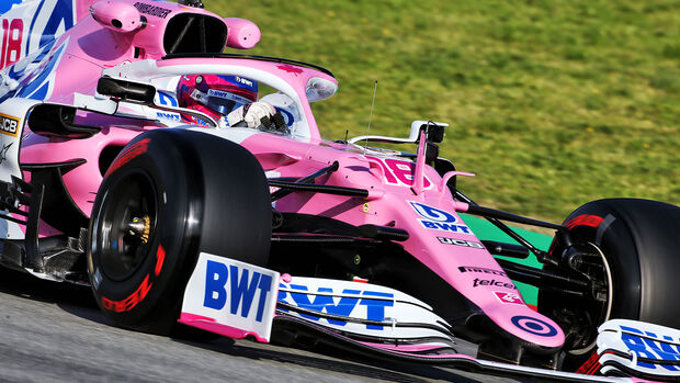 Lance Stroll - Racing Point - F1-Test - Barcelona - 26. Februar 2020