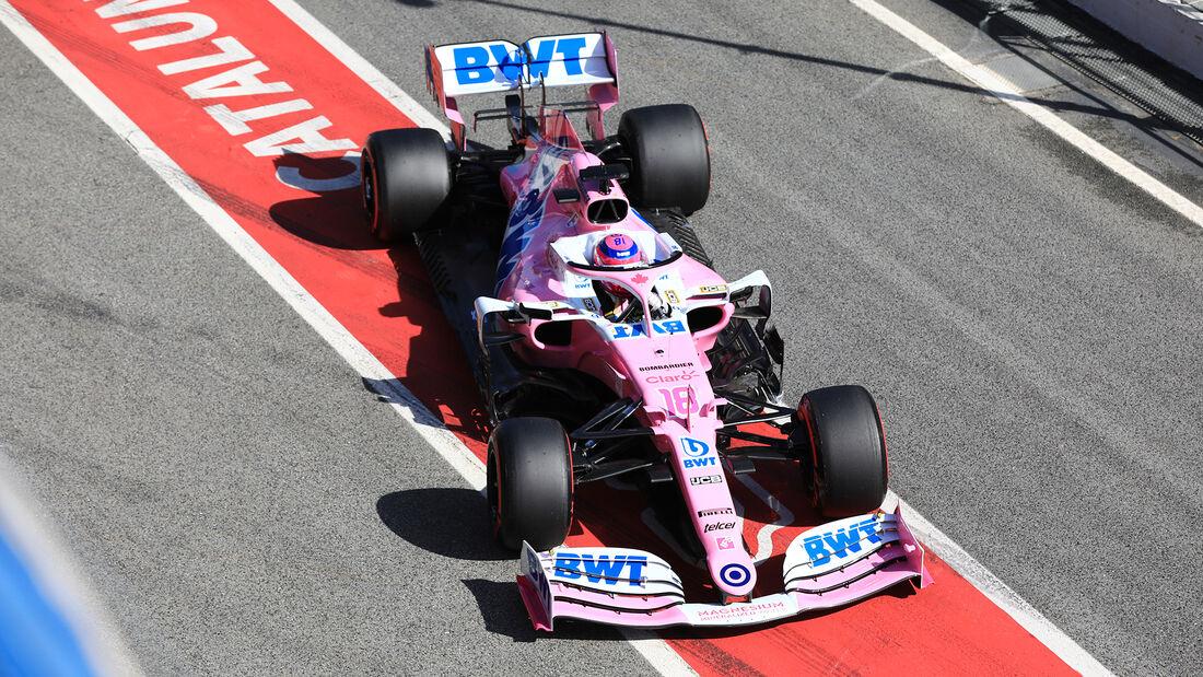 Lance Stroll - Racing Point - F1-Test - Barcelona - 27. Februar 2020