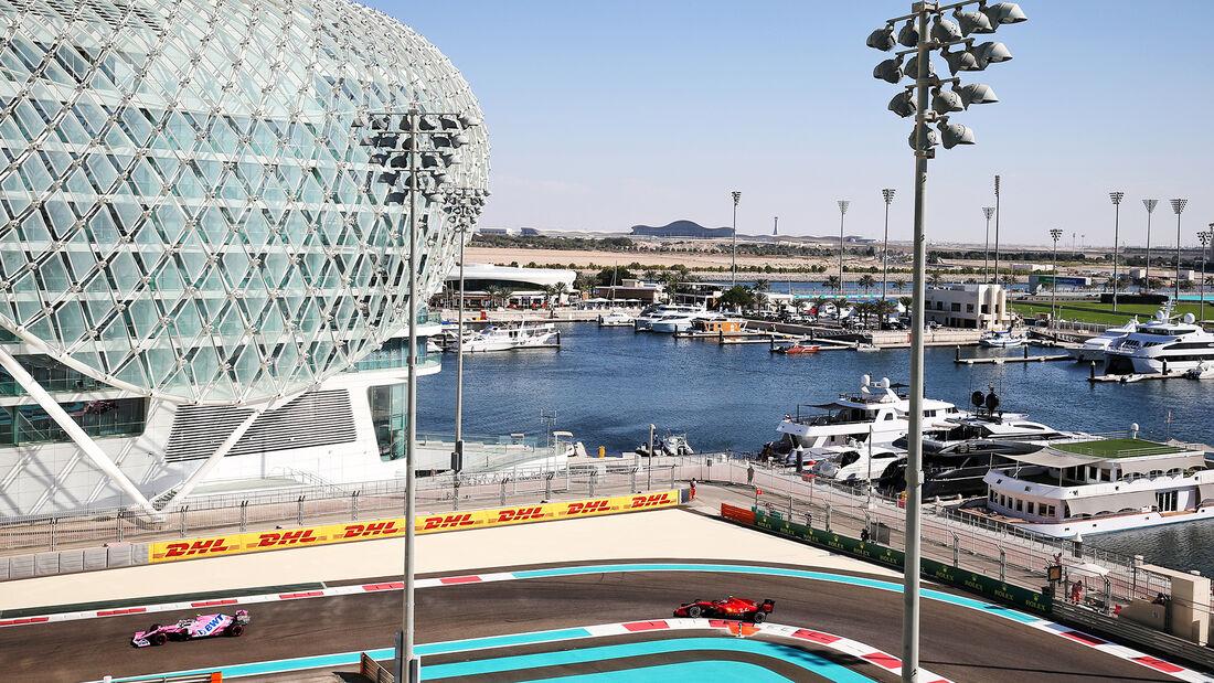 Lance Stroll - Racing Point - Formel 1 - GP Abu Dhabi - Freitag - 11.12.2020