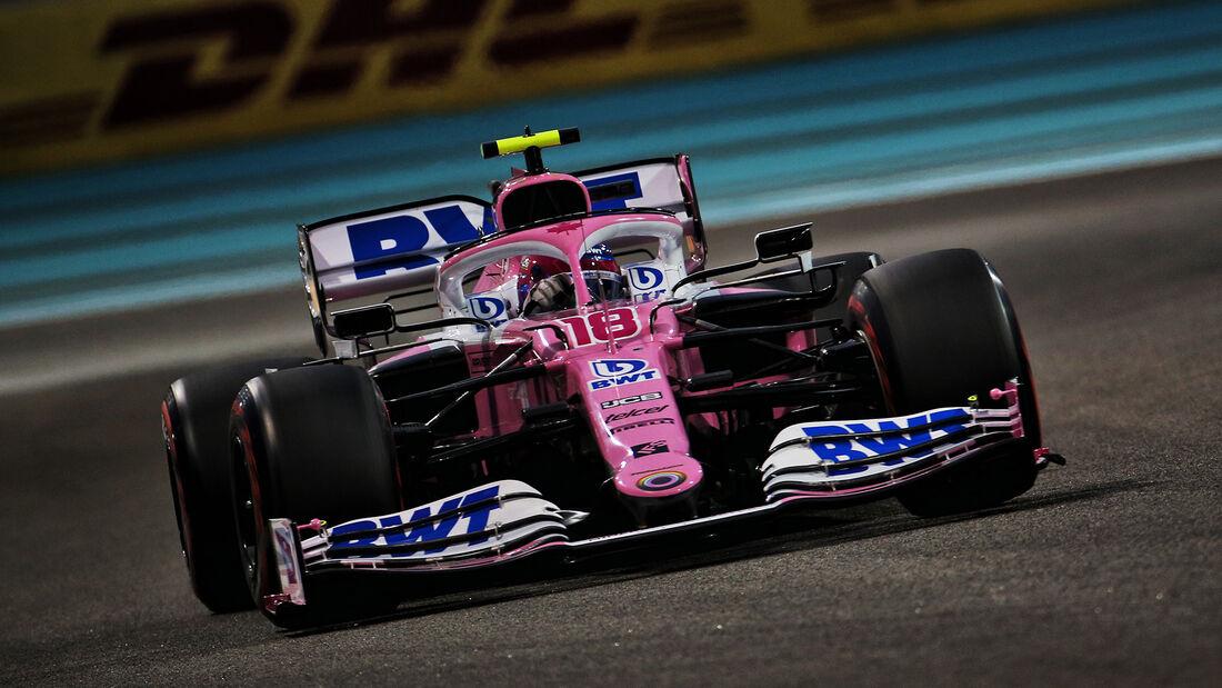 Lance Stroll - Racing Point - Formel 1 - GP Abu Dhabi - Samstag - 12.12.2020