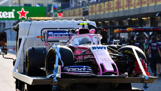 Lance Stroll - Racing Point - Formel 1 - GP Aserbaidschan - Baku - 26. April 2019