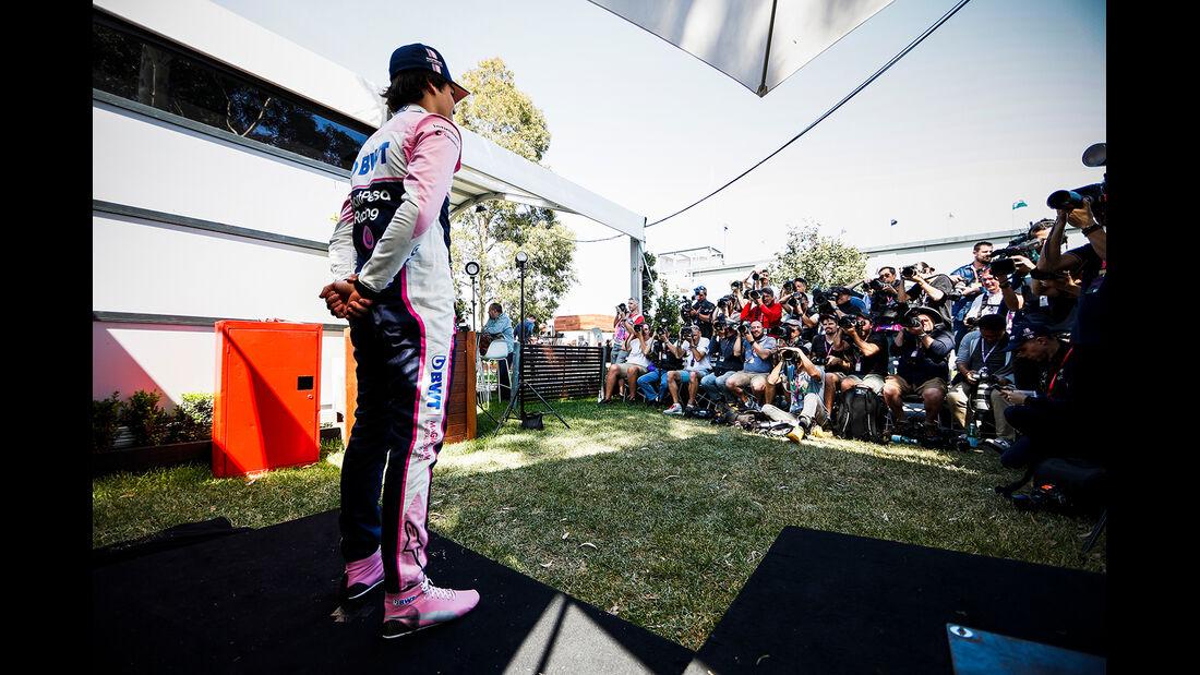 Lance Stroll - Racing Point - Formel 1 - GP Australien - Melbourne - 14. März 2019