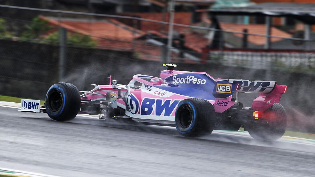 Lance Stroll - Racing Point - Formel 1 - GP Brasilien - Sao Paulo - 15. November 2019