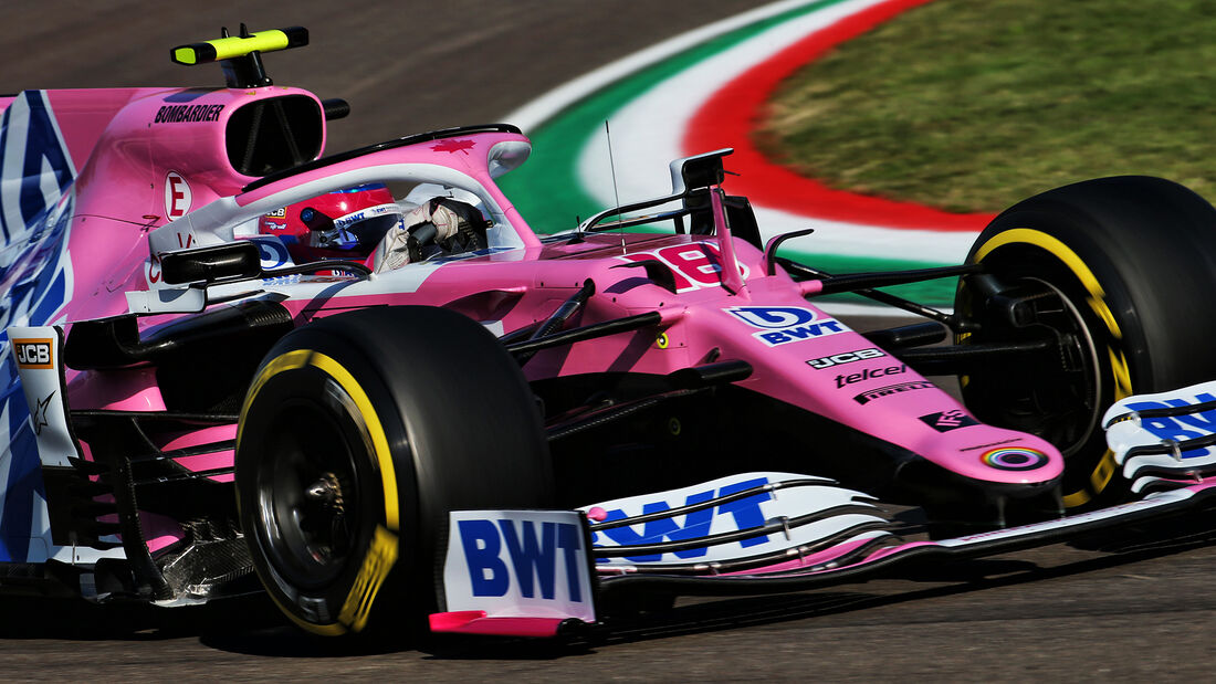 Lance Stroll - Racing Point - Formel 1 - GP Emilia-Romagna - Imola - Samstag - 31.10.2020