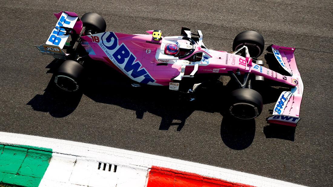 Lance Stroll - Racing Point - Formel 1 - GP Italien - Monza - 4. September 2020