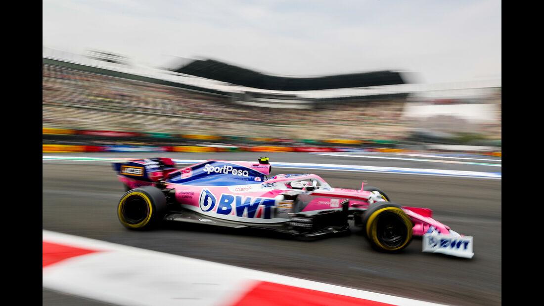 Lance Stroll - Racing Point - Formel 1 - GP Mexiko - 25. Oktober 2019