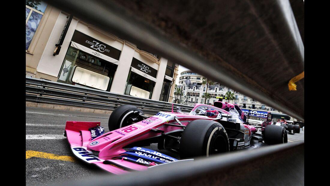 Lance Stroll - Racing Point - Formel 1 - GP Monaco - 23. Mai 2019
