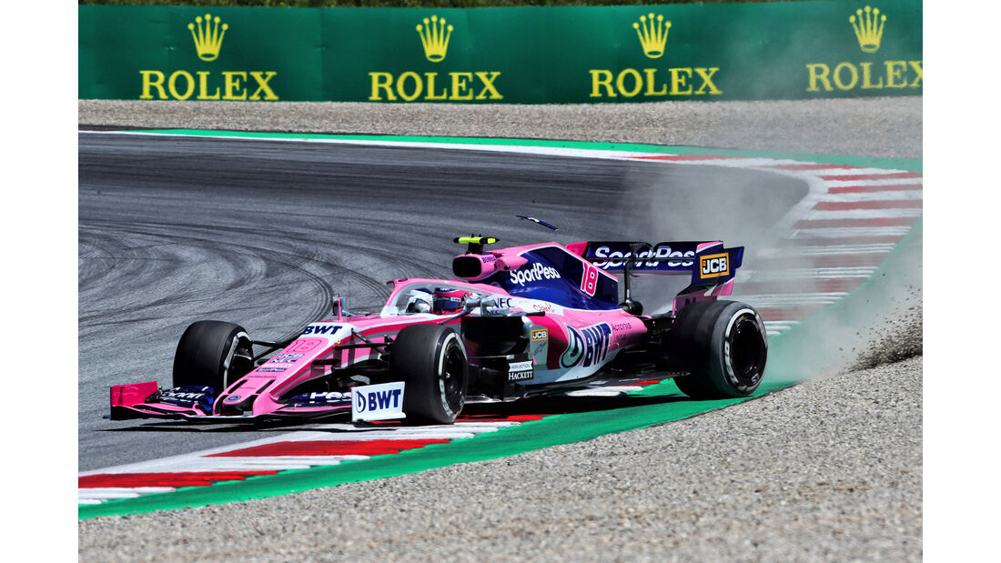 Lance Stroll - Racing Point - Formel 1 - GP Östereich - Spielberg - 28. Juni 2019