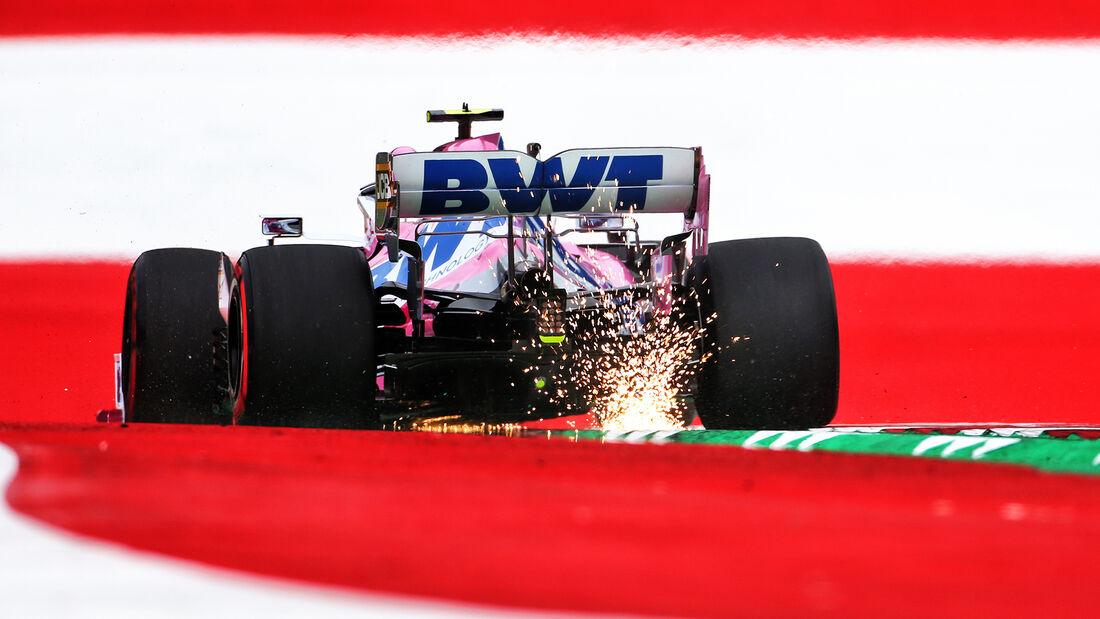 Lance Stroll - Racing Point - Formel 1 - GP Österreich - Spielberg - 3. Juli 2020