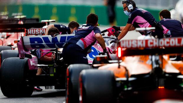 Lance Stroll - Racing Point - Formel 1 - GP Russland - Sotschi - 26. September 2020