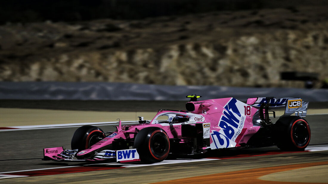 Lance Stroll - Racing Point - Formel 1 - GP Sakhir - Bahrain - Freitag - 4.12.2020