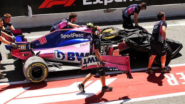 Lance Stroll - Racing Point - Formel 1 - GP Spanien - Barcelona - 10. Mai 2019